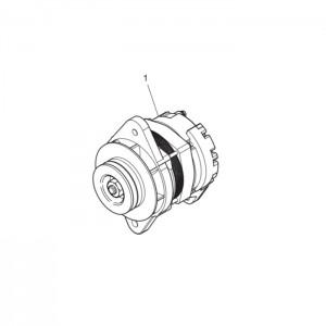 Зарядный генератор газового двигателя GV180TI