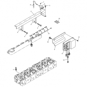 Электронная система зажигания газового двигателя GE12TI