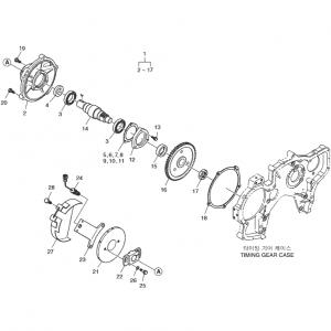 Привод топливного насоса газового двигателя GE12TI