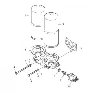 Масляный фильтр газового двигателя GV180TI