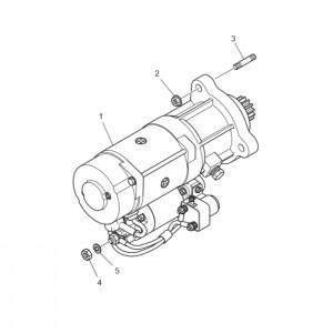 Стартер газового двигателя GV180TI