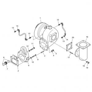 Турбина газового двигателя GE12TI